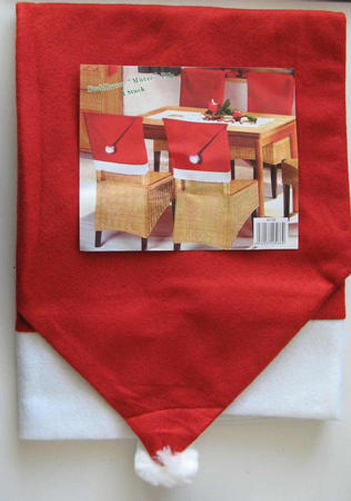 1x stuhl berzug stuhlhusse weihnachten 50 x 62cm. Black Bedroom Furniture Sets. Home Design Ideas