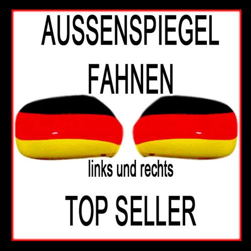 2er set auto aussenspiegel fahne spiegelfahne flagge ebay for Spiegel und fahne
